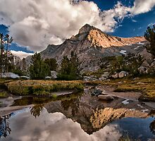 Tarn Reflection by Cat Connor