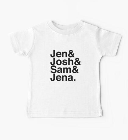 Jennifer & Josh & Sam & Jena. Baby Tee