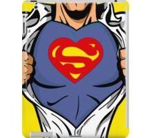 Superheart Funny iPad Case / iPhone 5 Case / T-Shirt  iPad Case/Skin