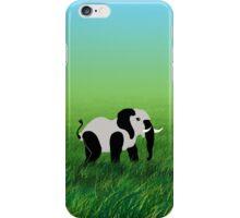 Panda-Phant in the Prairie iPhone Case/Skin
