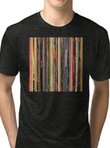 Classic Alternative Rock Records Tri-blend T-Shirt