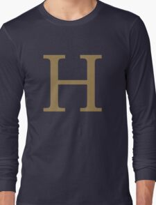Weasley Sweater - H (All letters available!) Long Sleeve T-Shirt