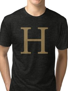 Weasley Sweater - H (All letters available!) Tri-blend T-Shirt