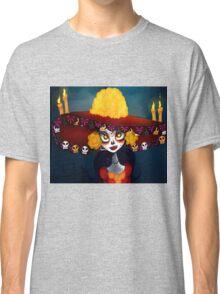 Catrina Skull wrist Classic T-Shirt
