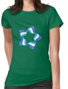 Ribbon Star Womens Fitted T-Shirt