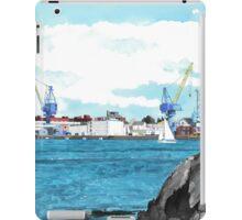 The Portsmouth Naval Shipyard iPad Case/Skin