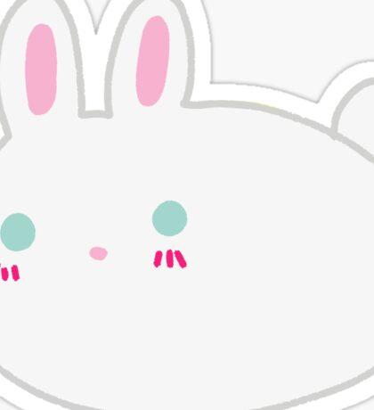 Blushing Bunny Sticker