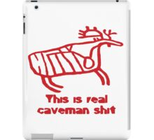 Caveman Shit - Moose iPad Case/Skin