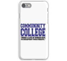Community College  iPhone Case/Skin