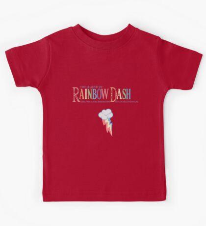 Legend of Rainbow Dash Kids Tee