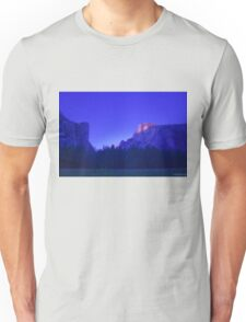 Half Dome At Sunset 2 Unisex T-Shirt