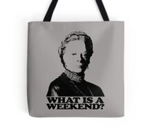 Downton Abbey What Is A Weekend Tshirt Tote Bag