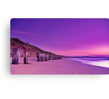 """Twilight Pastels"" Canvas Print"