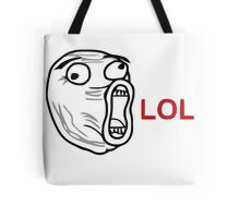 Lol face meme  Tote Bag