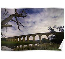 Arthington Viaduct over the River Wharfe Poster