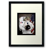 Astronautus Rex Framed Print