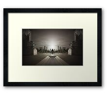 Guardians of the city Framed Print