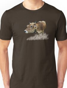 Milk cow in the field VRS2 T-Shirt