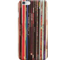 Vinyl Records Indie Rock  iPhone Case/Skin