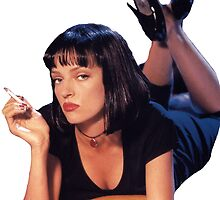 Pulp Fiction Mia Wallace by frankieee