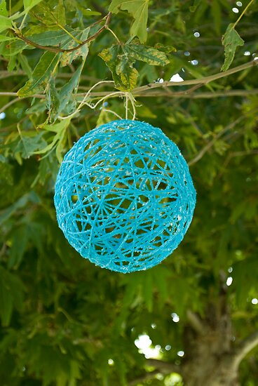 Yarn Ball by Monique Wajon