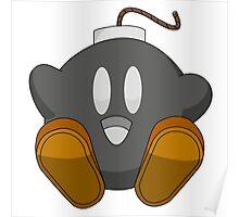 Bob-bomb Kirby Poster