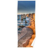 Return of the 12 - Twelve Apostles (Vertical Pano) - The HDR Experience Poster