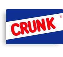 Crunk - Nestle Crunch parody Canvas Print