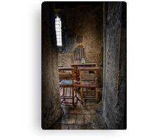 A Quiet Corner Canvas Print