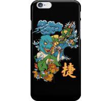 Japanese Mask, Dragon, Koi iPhone Case/Skin