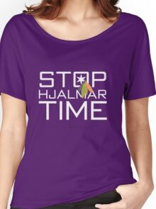 Stop, Hjalmar Time Women's Relaxed Fit T-Shirt