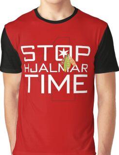 Stop, Hjalmar Time Graphic T-Shirt