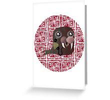 Little Walrus greeting card Greeting Card