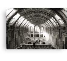 The Natural History Museum London Canvas Print