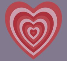 Powerpuff Girls Heart Kids Tee