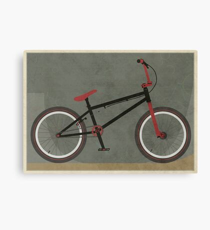 BMX Bike Canvas Print