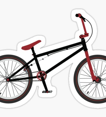 BMX Bike Sticker