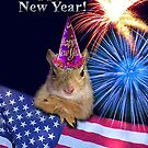New Years Squirrel by jkartlife