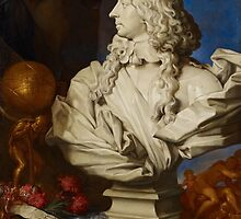 Allegorical Still Life with Bernini's Bust of Francis I d'Este by Bridgeman Art Library