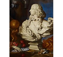 Allegorical Still Life with Bernini's Bust of Francis I d'Este Photographic Print