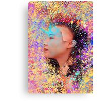 Mask of Impressionism Canvas Print