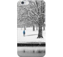 Winter Blues iPhone Case/Skin