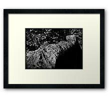 Ragged Edge Framed Print