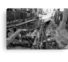 Broken Broadway Canvas Print