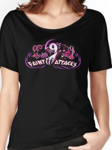 Dark Types - Faint Attacks Women's Relaxed Fit T-Shirt