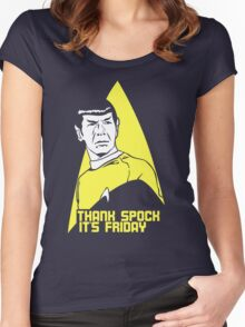 Thank Spock it's Friday Women's Fitted Scoop T-Shirt