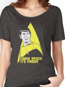 Thank Spock it's Friday Women's Relaxed Fit T-Shirt