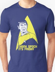 Thank Spock it's Friday Unisex T-Shirt