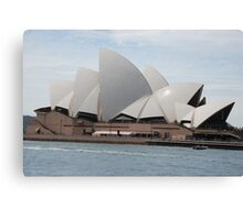 Sydney Opera House full view Canvas Print