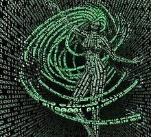Guardian of the Data Stream by KittenPokerUK